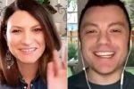 Coronavirus, Laura Pausini e Tiziano Ferro via web da casa: racconti e musica per i fan