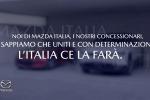 """Mazda """"Se uniti, l'Italia ce la farà"""""""