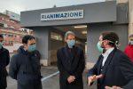 Vertice su Coronavirus a Messina, Musumeci e Razza in visita al Policlinico