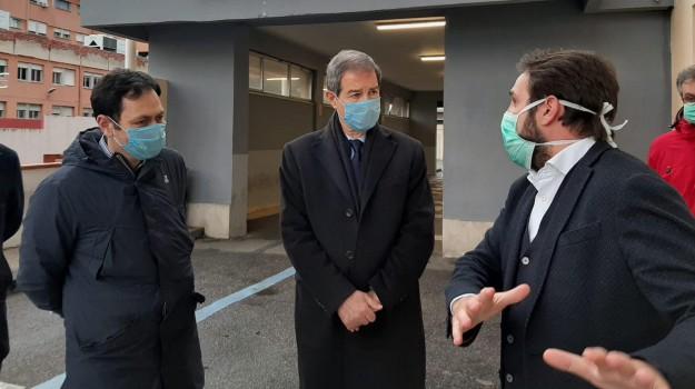 coronavirus, Cateno De Luca, Nello Musumeci, ruggero razza, Messina, Sicilia, Politica