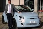 Nuova Fiat 500, prima vettura di Fca nata full electric