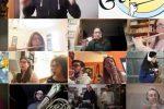 Coronavirus, a Messina banda riunita via web: l'inno di Mameli si suona... così