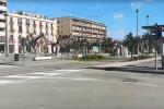 Lockdown per il Coronavirus, così Messina diventa una città fantasma