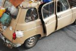 Riecco la Renault 4 che attraversò lo Stretto di Messina, avvistata a Mazzarino