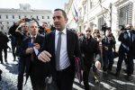 Il ministro per le Politiche Giovanili e lo Sport Vincenzo Spadafora