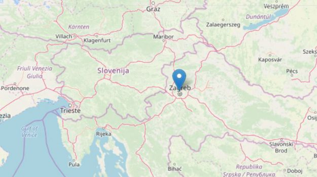 croazia, terremoto, Sicilia, Mondo