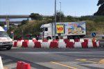 Tangenziale di Messina chiusa, scatta deviazione obbligatoria a Giostra: prima fila di traffico