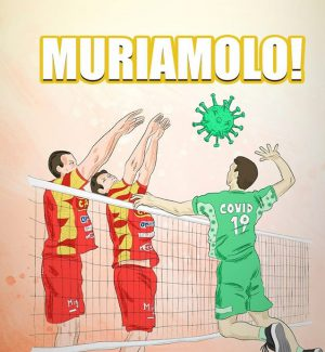 """Volley, Tonno Callipo Vibo """"torna"""" in campo e sfida il Covid 19: """"Muriamolo!"""""""