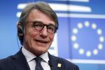Sassoli, serve Europa più verde, digitale, proiettata futuro