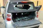 Giallo a Messina, auto crivellata da 5 colpi d'arma da fuoco a Mili San Marco