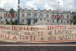 """Emergenza lavoro a Messina, sit-in dei Cobas: """"Servono investimenti"""""""