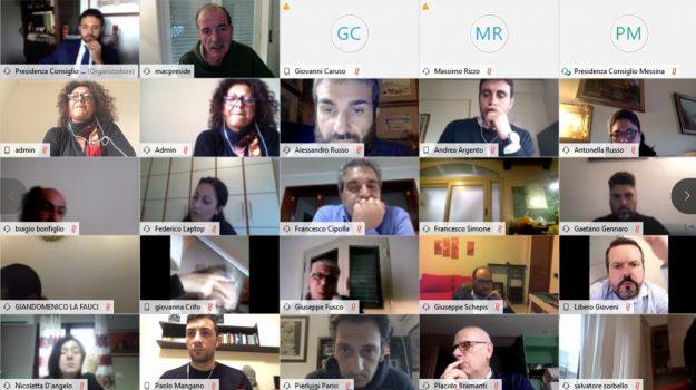 consiglio comunale, Alessandro Russo, Messina, Sicilia, Politica