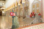 Cattedrale di Messina vuota per la benedizione delle Palme, le foto della celebrazione