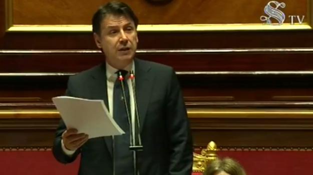 coronavirus, governo, senato, Giuseppe Conte, Sicilia, Politica