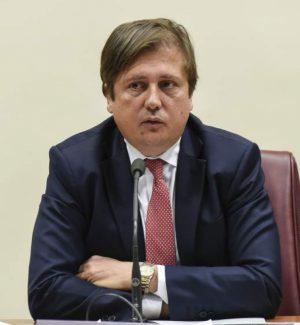 il viceministro alla Salute, Pierpaolo Sileri
