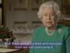 """Coronavirus, la regina Elisabetta alla nazione: """"Ringrazio chi resta a casa"""""""