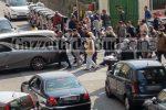 Funerali del fratello del boss Sparacio a Messina, le foto del corteo