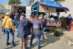 Messina, blitz dei vigili contro gli ambulanti abusivi: momenti di tensione - Foto