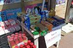 Crotone, banchetto della solidarietà con generi alimentari per chi è in difficoltà