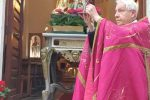Messina, monsignor Freni benedice reliquia San Giorgio a Briga Superiore