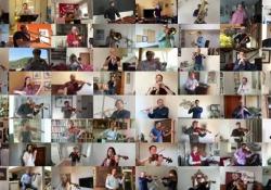 Buona Pasqua, gli auguri in musica della Filarmonica della Scala I 64 dei musicisti dell'orchestra eseguono da remoto il celebre - Corriere Tv