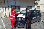 San Demetrio Corone, i carabinieri consegnano alimenti e farmaci