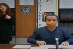 """Coronavirus a Messina, il sindaco De Luca: """"Rispettare il divieto di uscire da casa"""""""