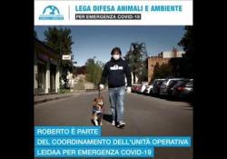 «Ecco la nostra unità di crisi per aiutare gli animali in difficoltà durante l'emergenza Covid-19» Roberto è uno dei volontari della Leidaa impegnati nel sostegno a quanti non possono prendersi cura dei propri animali d'affezione durante la pandemia - Corriere Tv
