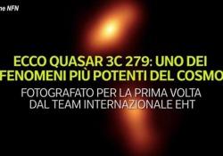 Ecco Quasar 3C 279: uno dei fenomeni più potenti del cosmo Fotografato per la prima volta dal team internazionale Eht - Ansa