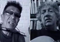 Edoardo ed Eugenio Bennato e il brano contro il Coronavirus I due fratelli si uniscono in «La realtà non può essere questa» - Corriere TV