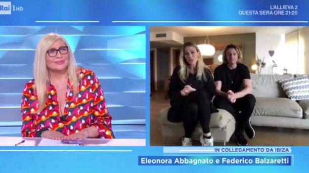 Domenica In, tv, Eleonora Abbagnato, Sicilia, Società