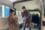 Coronavirus, l'Esercito consegna una tonnellata di cibo per due istituti religiosi di Palermo