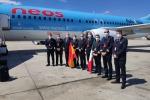 Gruppo Alpitour porta aiuti sanitari in Spagna con Neos