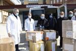 L'ospedale di Locri accoglie i doni di Papa Francesco: dispositivi sanitari contro il virus