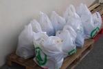 Messina, Protezione civile consegna pacchi spesa e pasti caldi a chi vive disagio economico