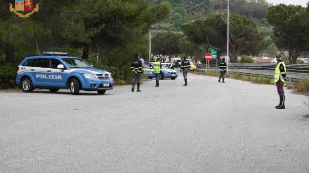 autostrada, polizia, Messina, Sicilia, Cronaca