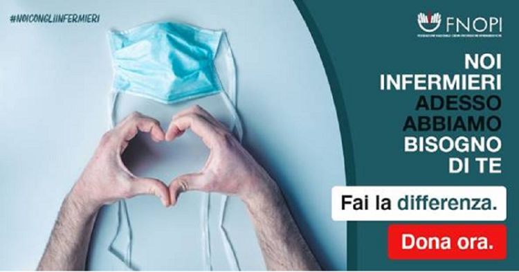 Raccolta Fondi Della Fnopi Per Infermieri In Prima Linea Gazzetta Del Sud