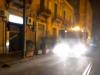 Coronavirus, ripresa la sanificazione delle strade a Messina: ecco le zone di stasera
