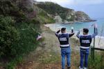 Grotticelle, lavori abusivi: Guardia costiera sequestra area sottoposta a vincoli