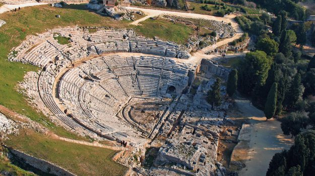 Teatro greco di Siracusa, Sicilia, Cultura