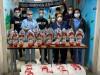 Gli ultras della Vibonese donano uova di Pasqua al reparto di pediatria dell'ospedale Jazzolino