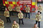 """Vigili del fuoco inglesi cantano """"Bella ciao"""": il nostro omaggio ai colleghi italiani"""
