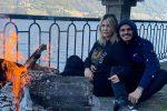 Wanda Nara e Mauro Icardi a Como, le foto della quarantena in una villa vista lago