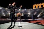 """Eurovision, Diodato emoziona con la sua """"Fai Rumore"""" dalla deserta Arena di Verona"""