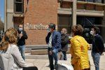 Senza soldi né lavoro, manifestazione davanti all'Inps di Messina dei lavoratori dello spettacolo