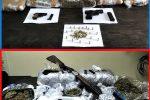 Droga ed estorsioni a Catania, colpo al clan Brunetto: blitz con 46 arresti, coinvolti anche a Messina
