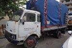 Messina, camion abbandonato usato come magazzino: fruttivendolo multato