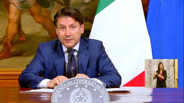 il decreto, tv, Giuseppe Conte, Sicilia, Cultura