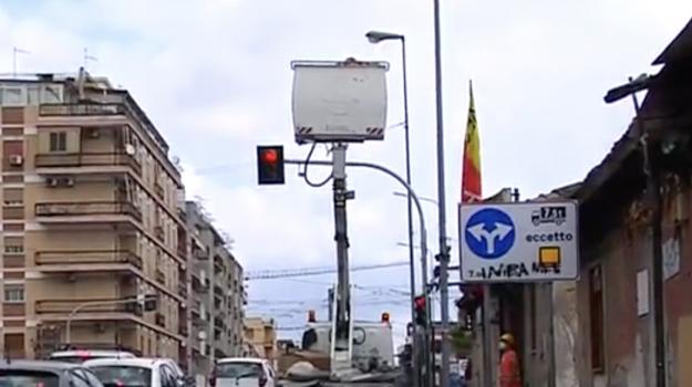 illuminazione, Messina, Sicilia, Cronaca