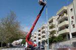 Illuminazione pubblica, lavori di manutenzione in varie zone di Messina